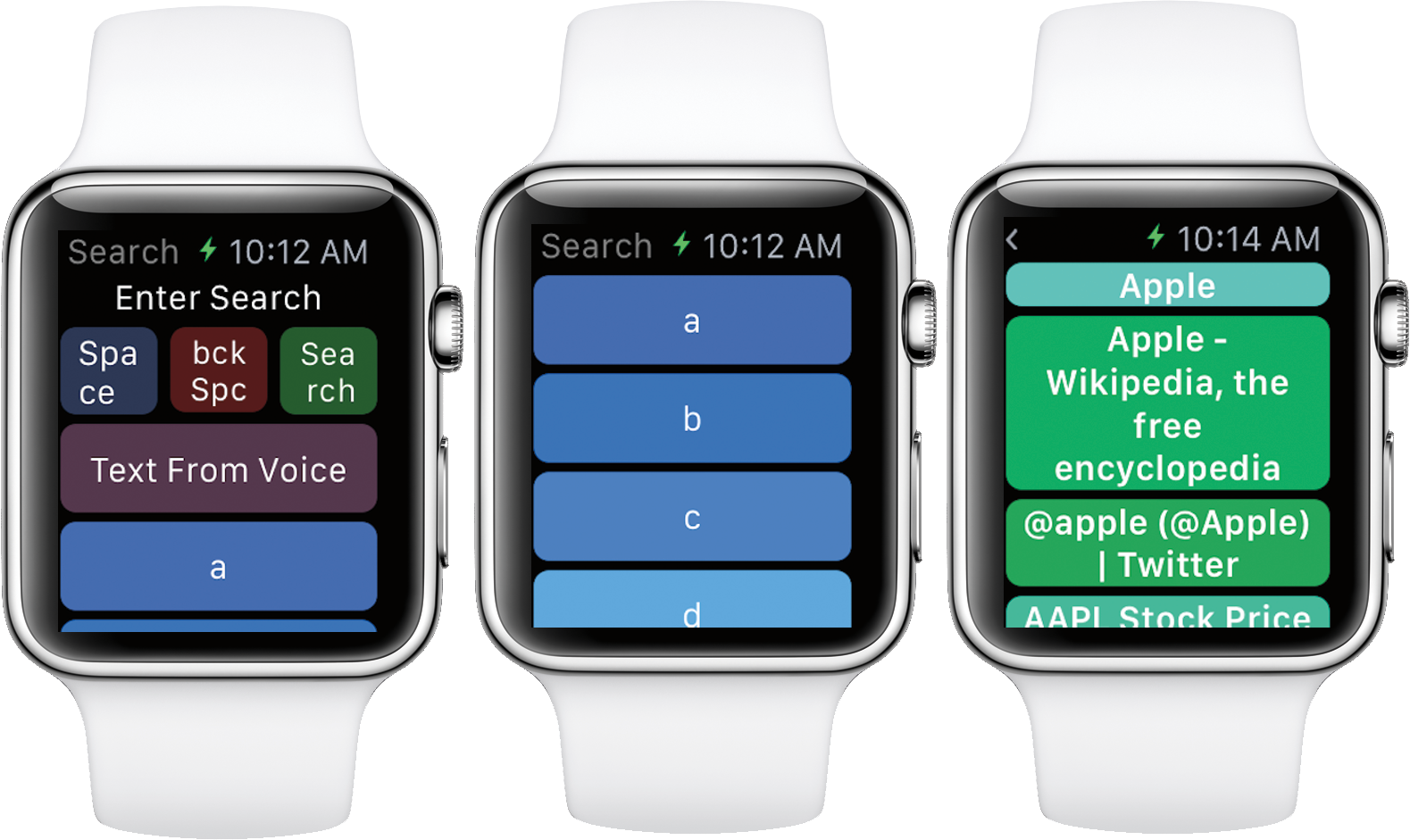 WatchWeb Apple Watch
