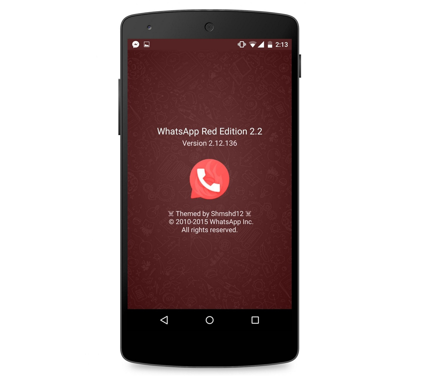 WhatsApp Red Edition 2.2