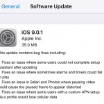 Apple iOS 9.0.1 Update Now Available – Features, Changelog