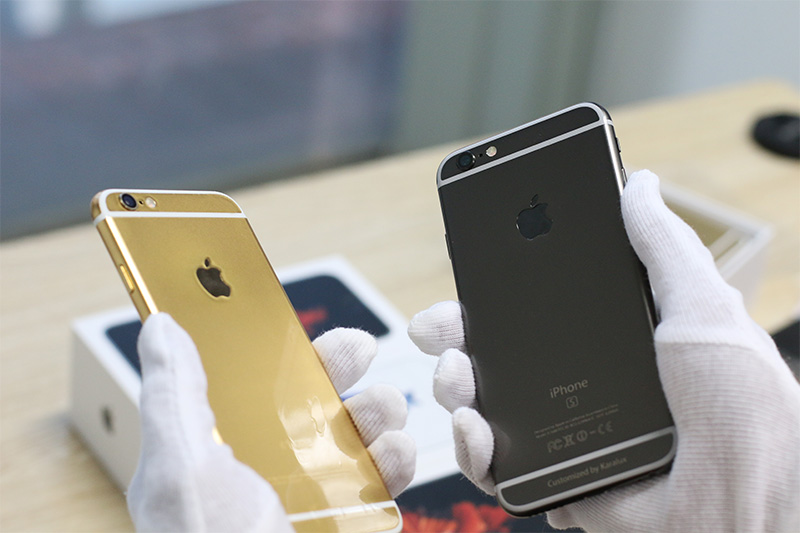 iPhone 6S Black Gold vs Gold Version