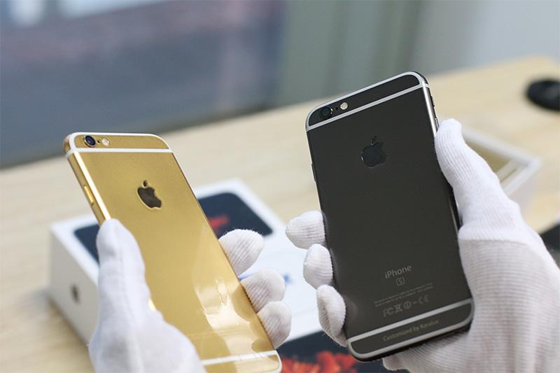 iPhone 6S Black Gold vs Gold Version
