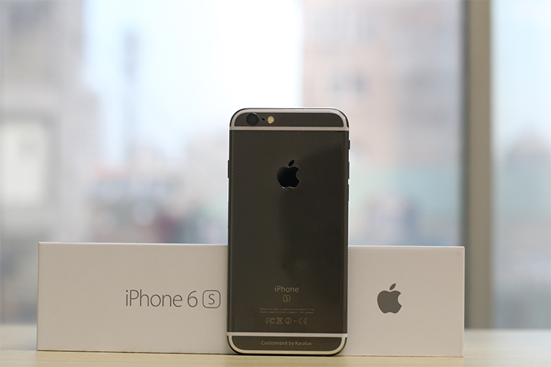 iPhone 6S Black Gold