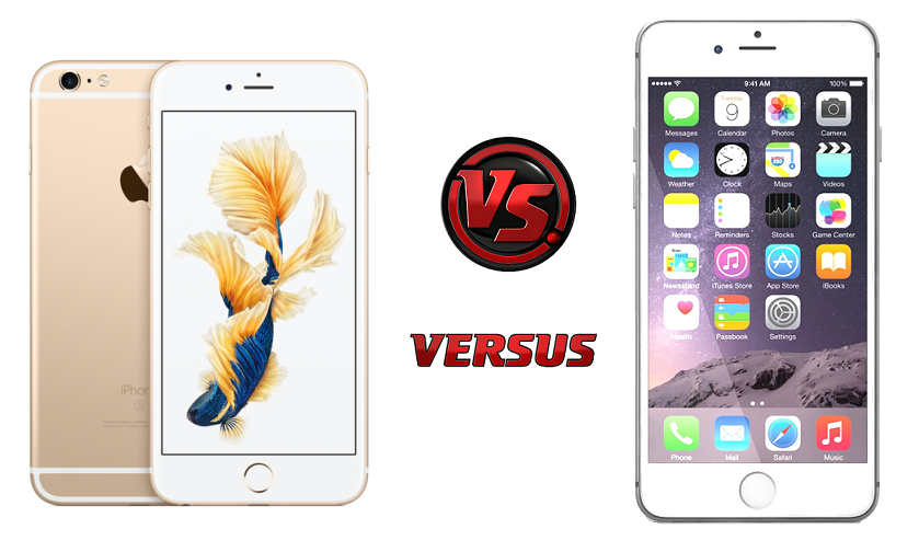 Apple iPhone 6S vs iPhone 6 Plus comparison