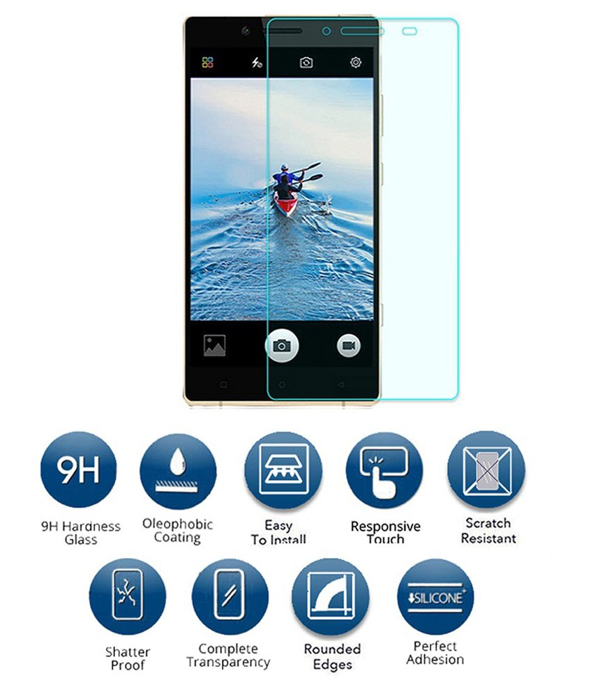 FEYE Tempered Glass Screen Guard For Gionee Elife E8