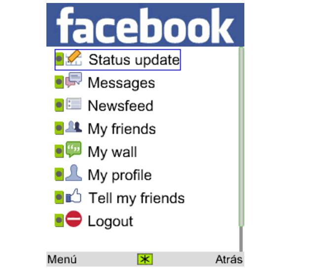 Facebook Messenger for Java