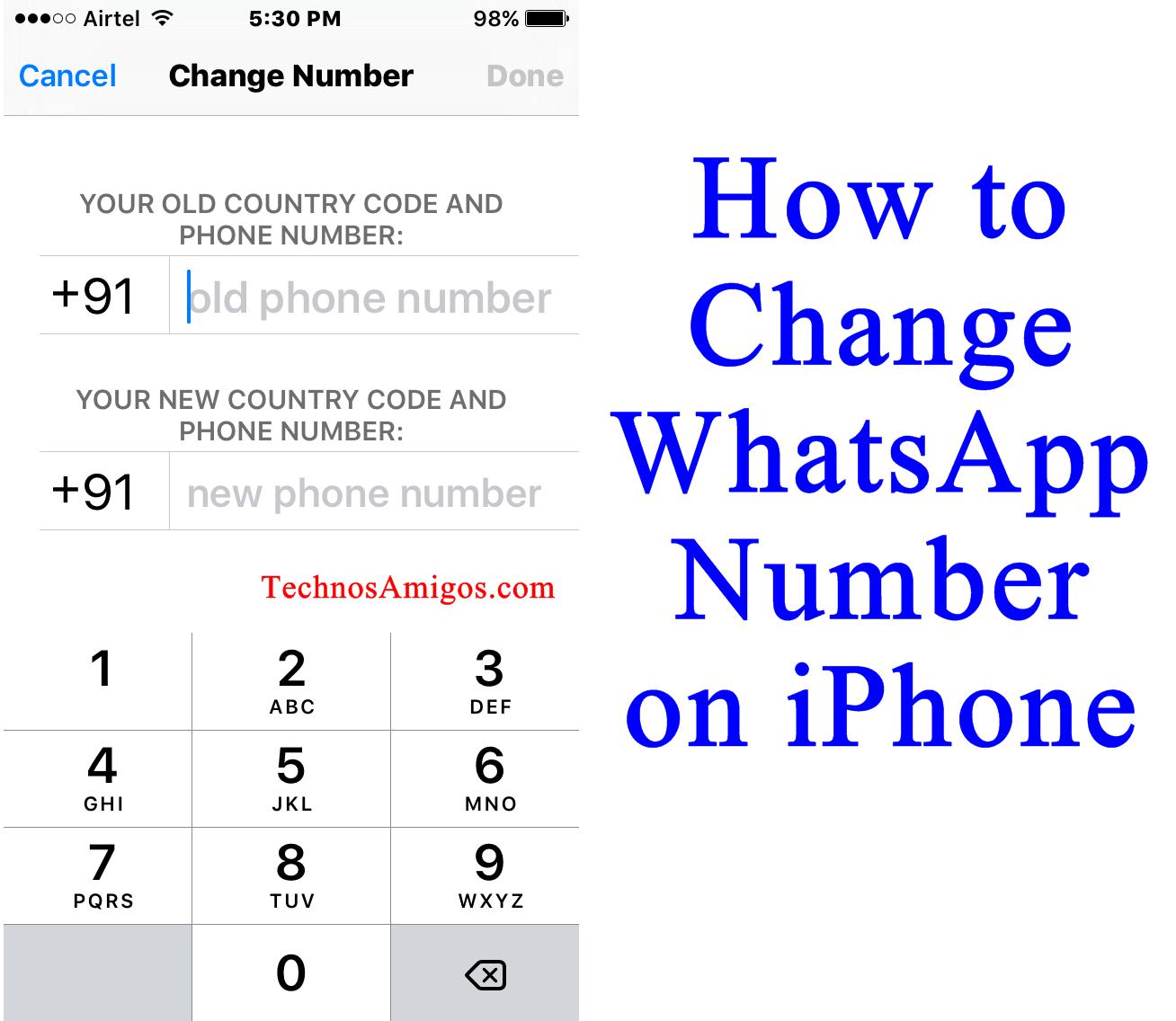 WhatsApp iPhone Change