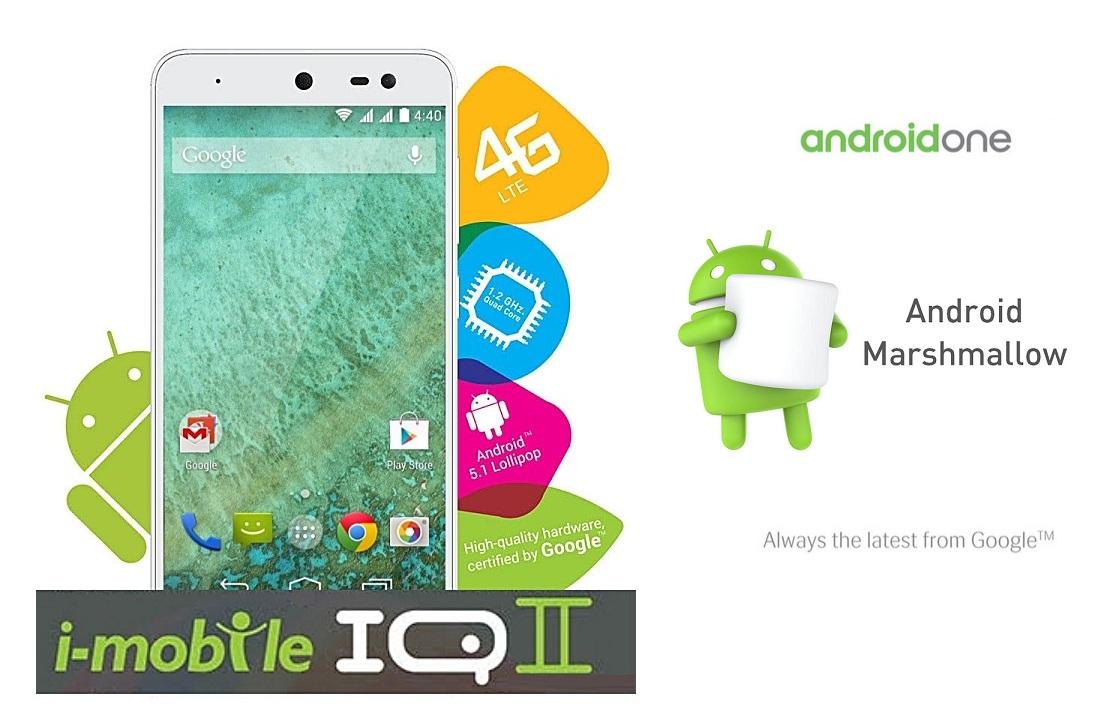 i-mobile IQ II Marshmallow Update