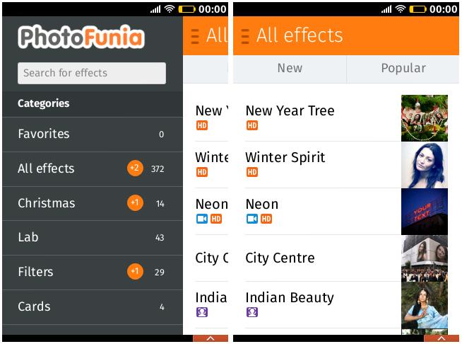 PhotoFunia Firefox App