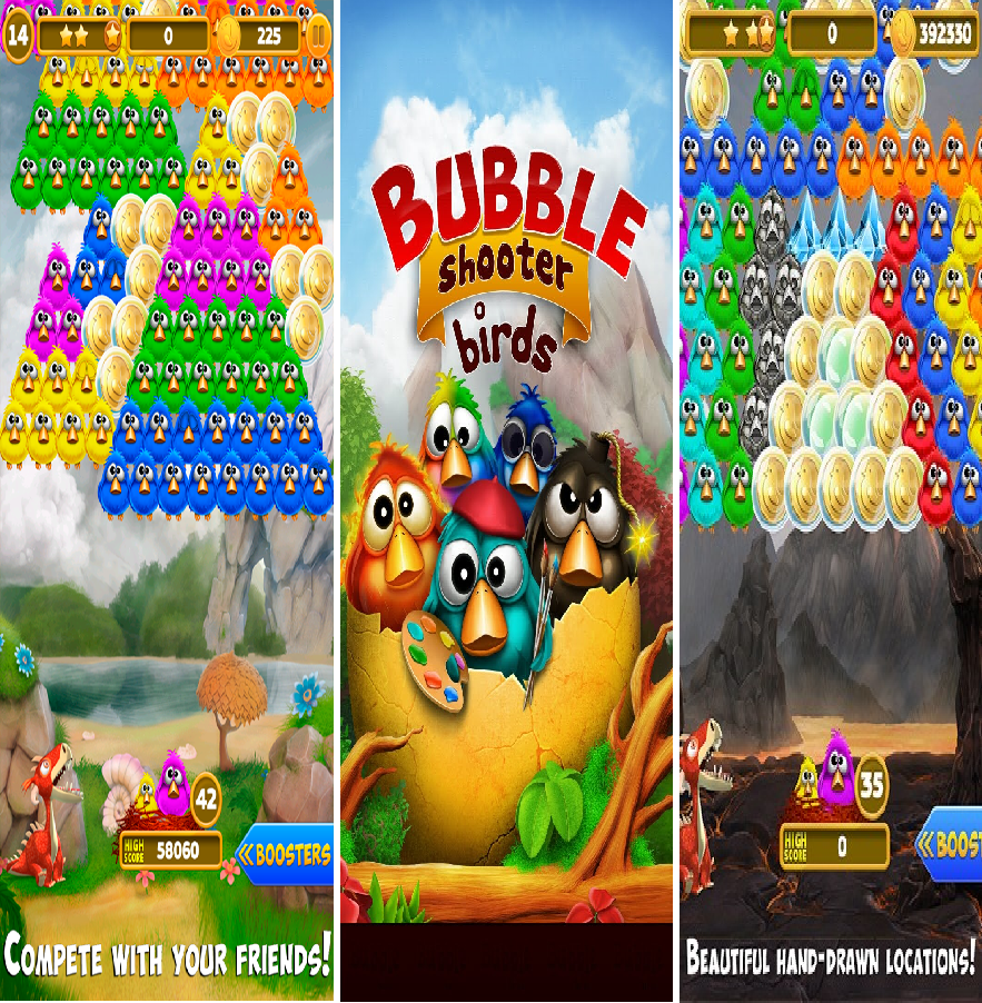 Bubble Shooter Birds for PC
