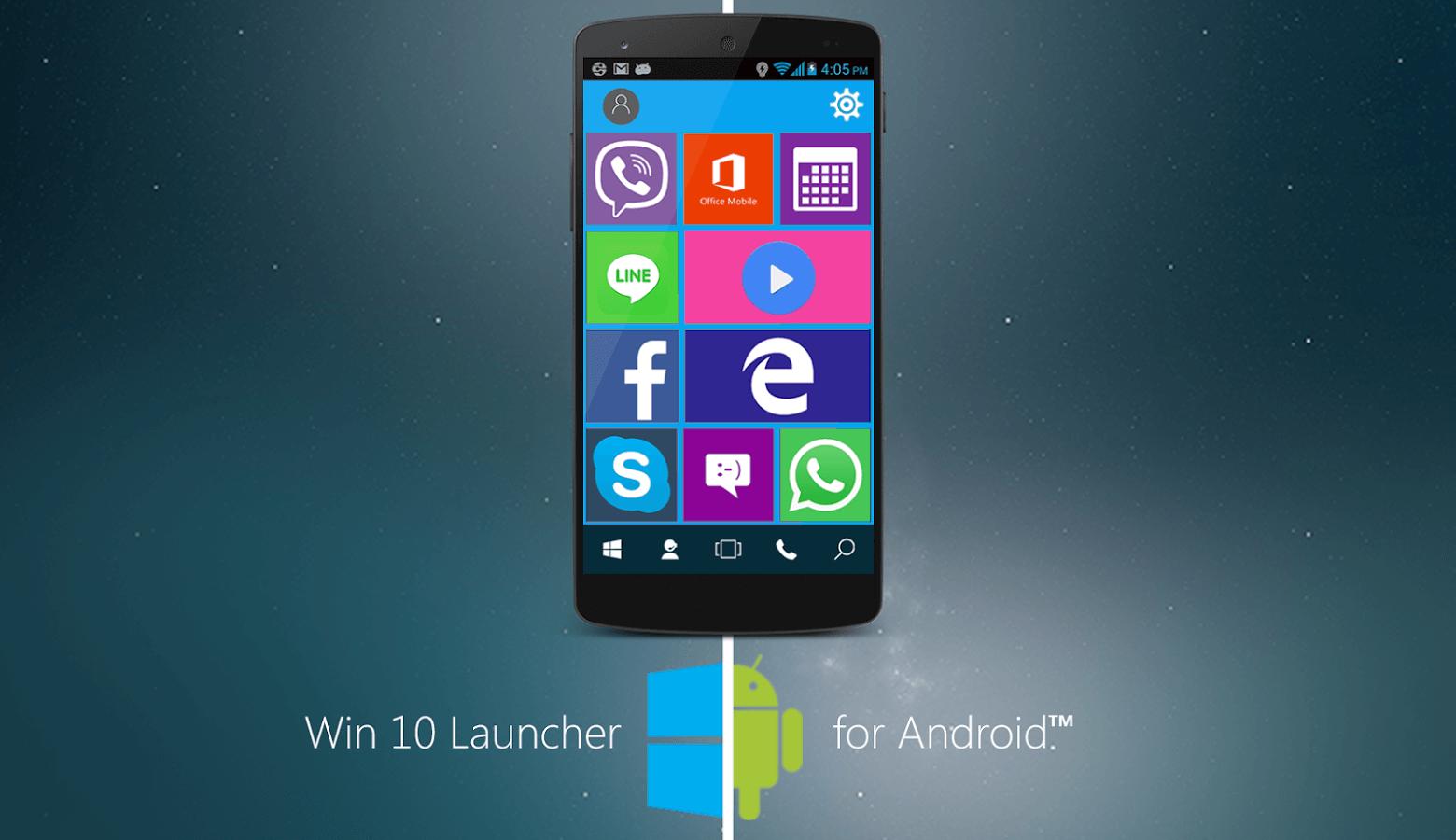 Windows 10 Launcher APK