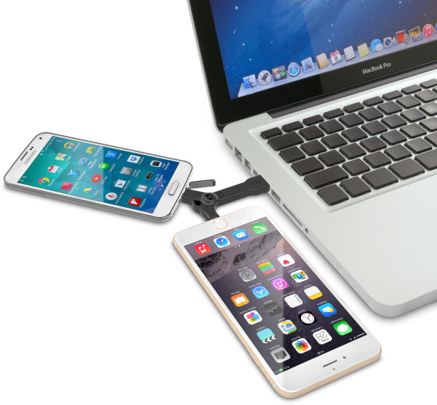 DuoKeyCharge KeyChain for iPhone