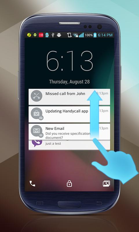 Lollipop Lockscreen for Android L