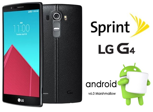 Sprint LG G4 Marshmallow Update