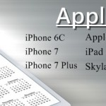 Apple 2016 Products – iPhone 6C, iPhone 7, Apple Watch 2, Skylake MacBook