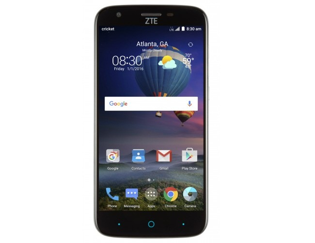 Cricket Wireless ZTE Grand X3