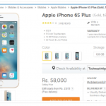 Buy Apple iPhone 6S Plus in India at Rs 58,000 Only