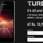 Panasonic Eluga Turbo – 3 GB RAM Phone Under Rs 11,000