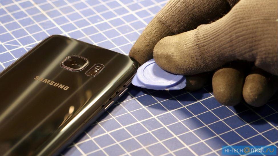 Galaxy S7 Tear down