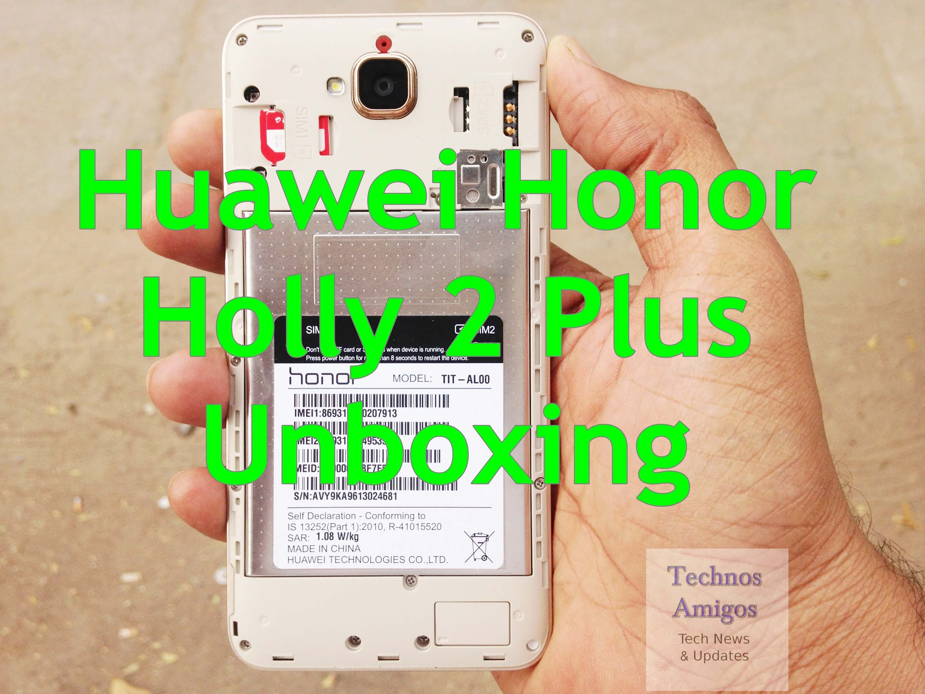 Honor Holly 2 Plus Unboxing