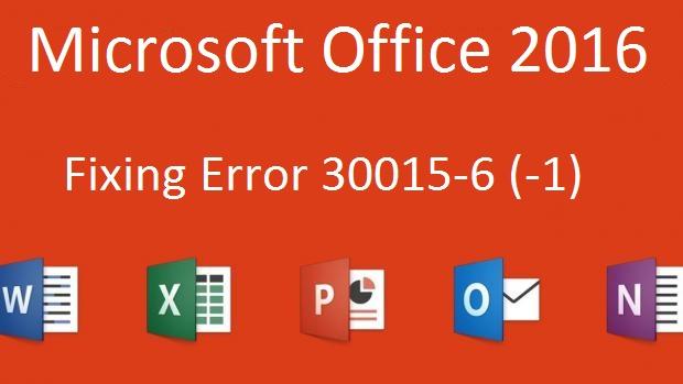 Microsoft office 2016 Error