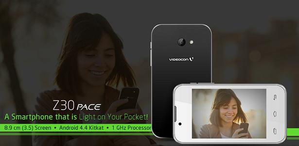Videocon Z30 Pace