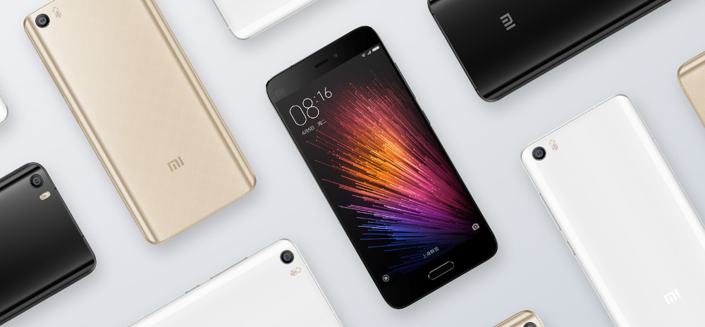 Xiaomi Mi5 Starting at $306 Announced Officially at MWC 2016