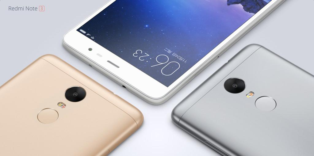 Xiaomi Redmi Note 3 Phone