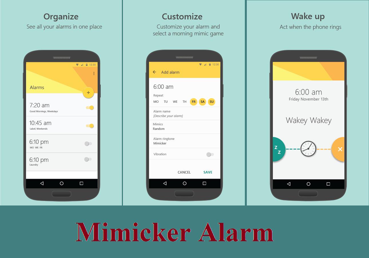 mimicker alarm 1