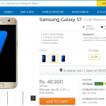 Buy Galaxy S7 in India from Flipkart, Snapdeal, Amazon- Deals & Offers