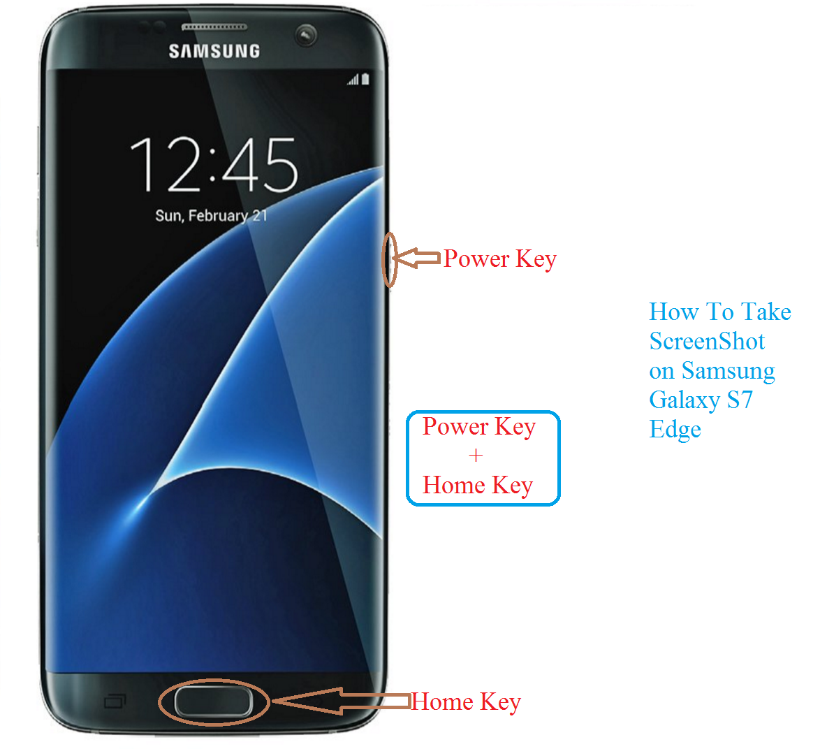 how to take screenshots with a samsung 5s