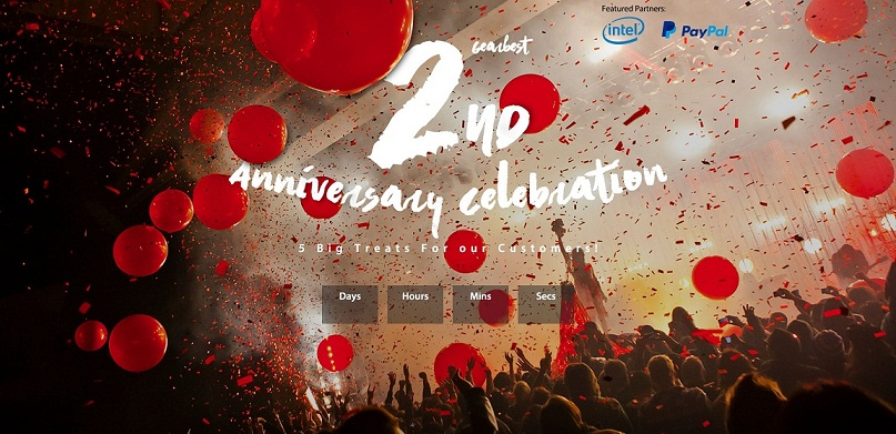 GearBest Second Anniversary Sale