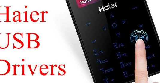 Haier USB drivers