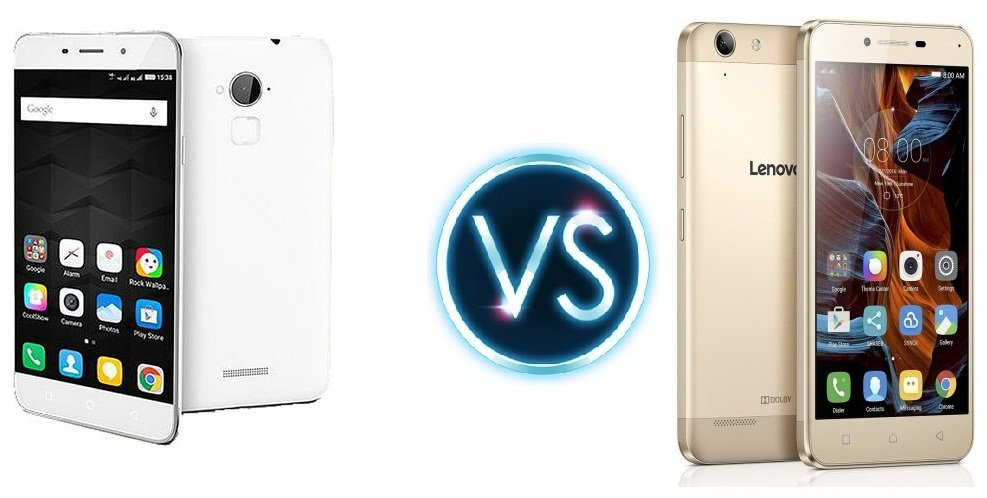 Lenovo Vibe K5 Plus vs Coolpad Note 3