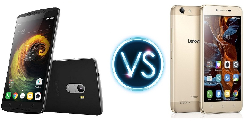Lenovo Vibe K5 Plus vs K4 Note