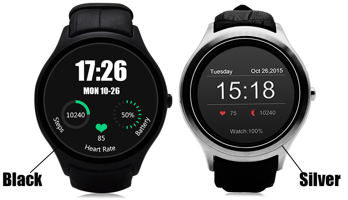 NO.1 D5 Android 4.4 Smartwatch