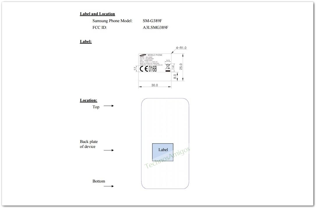 Samsung Galaxy Xcover 4 SM-G389f