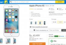 Apple iPhone 6S India