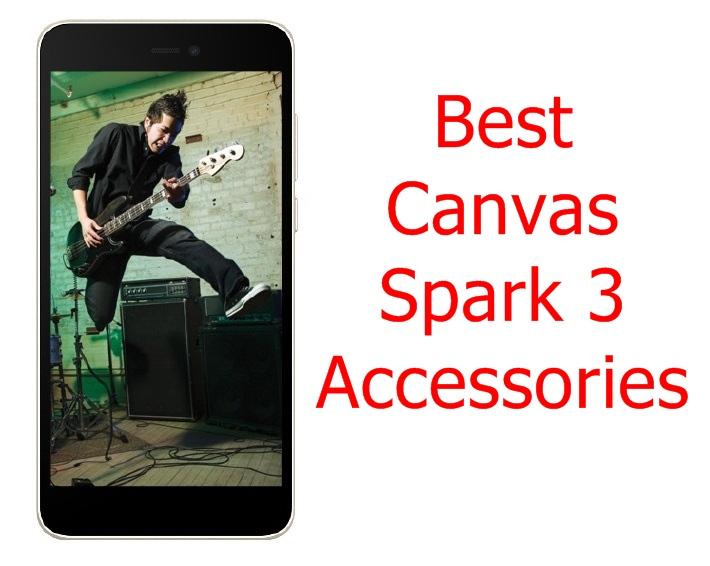 Canvas Spark 3 Phone Accessories