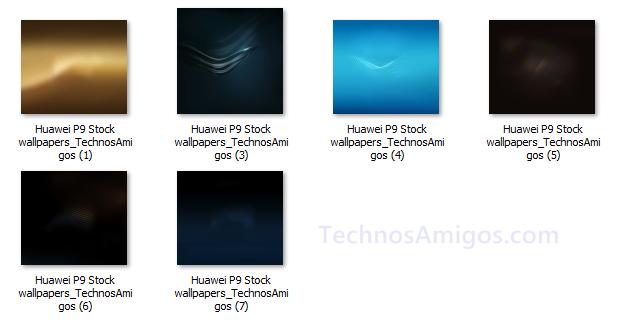 Huawei P9 Default Wallpapers