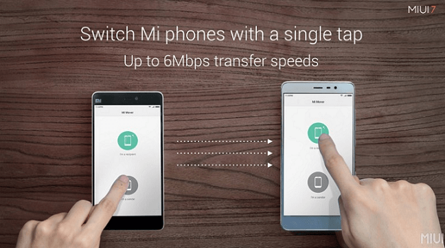 download Xiaomi MI Mover App