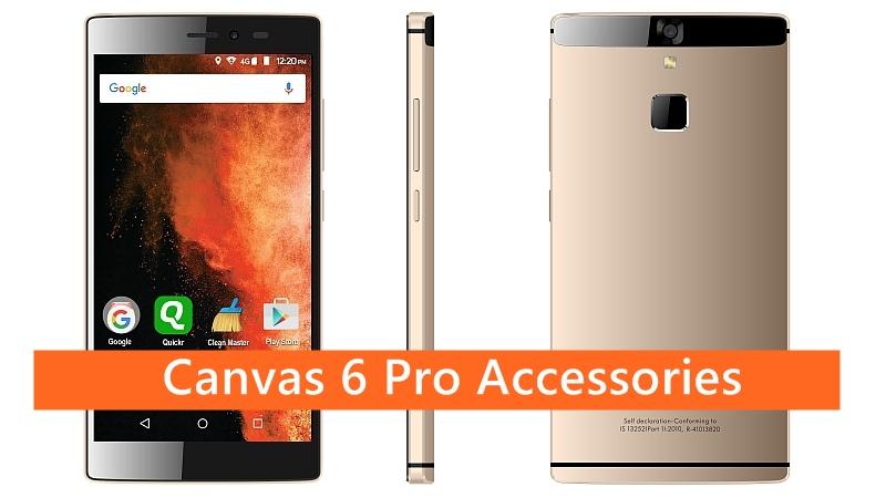 Canvas 6 Pro Accessories