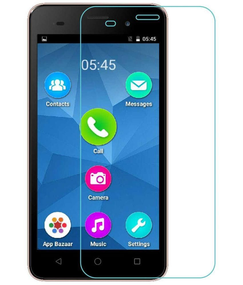 CareFone Tempered Glass Screen Guard for Micromax Canvas Spark 2 Plus