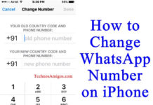 How to Change WhatsApp Number on iPhone without Uninstall