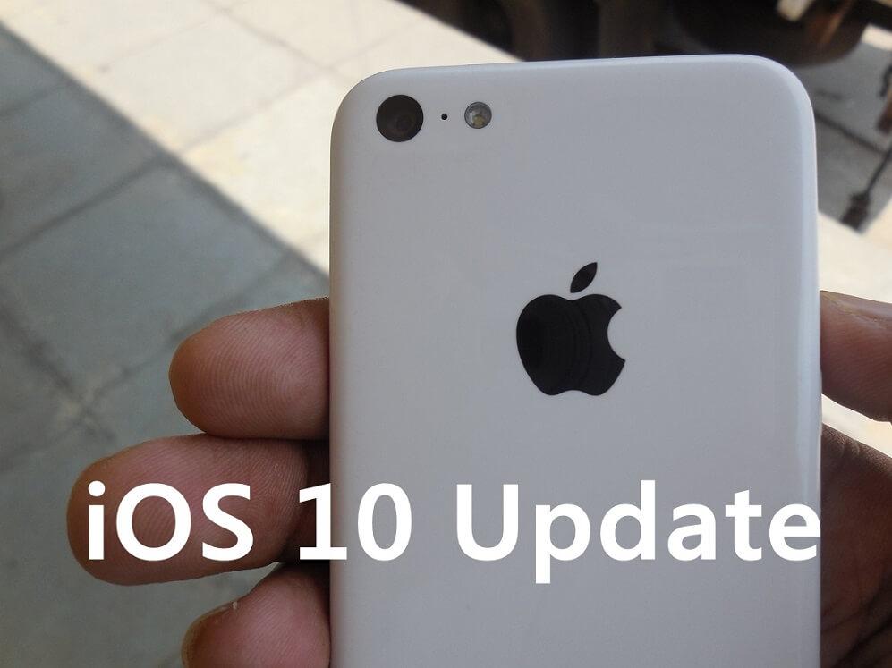 iOS 10 Update