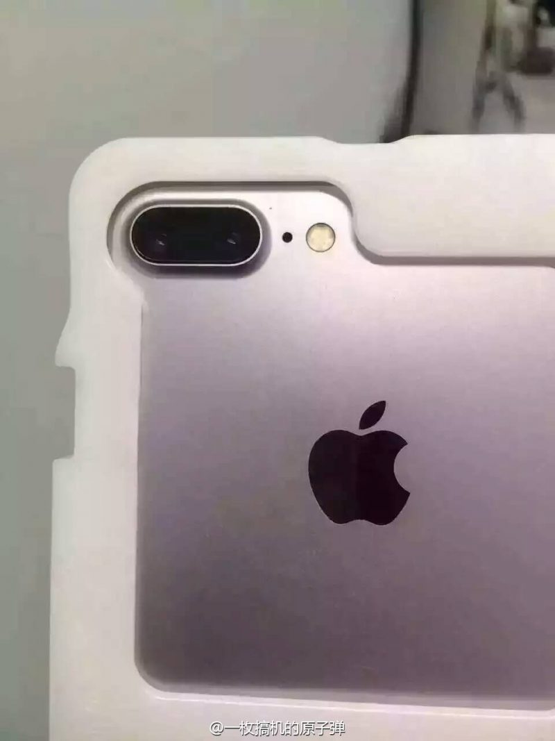 iPhone 7 Plus Dual Camera Leak