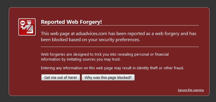Firefox Web Forgery