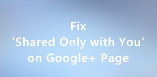 Fix Google+ Page Settings