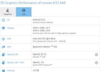 Lenovo K33 A48