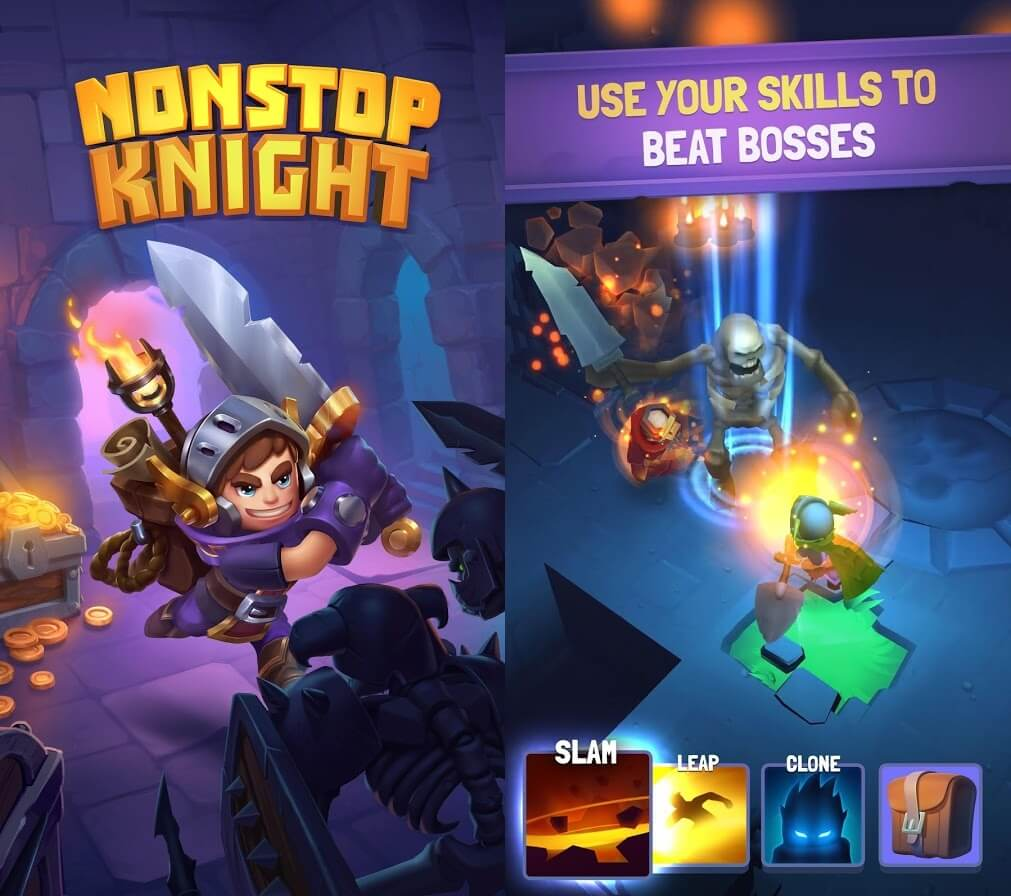 Nonstop Knight Modded APK