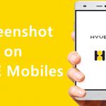 How to Take Screenshot on HYVE Mobiles